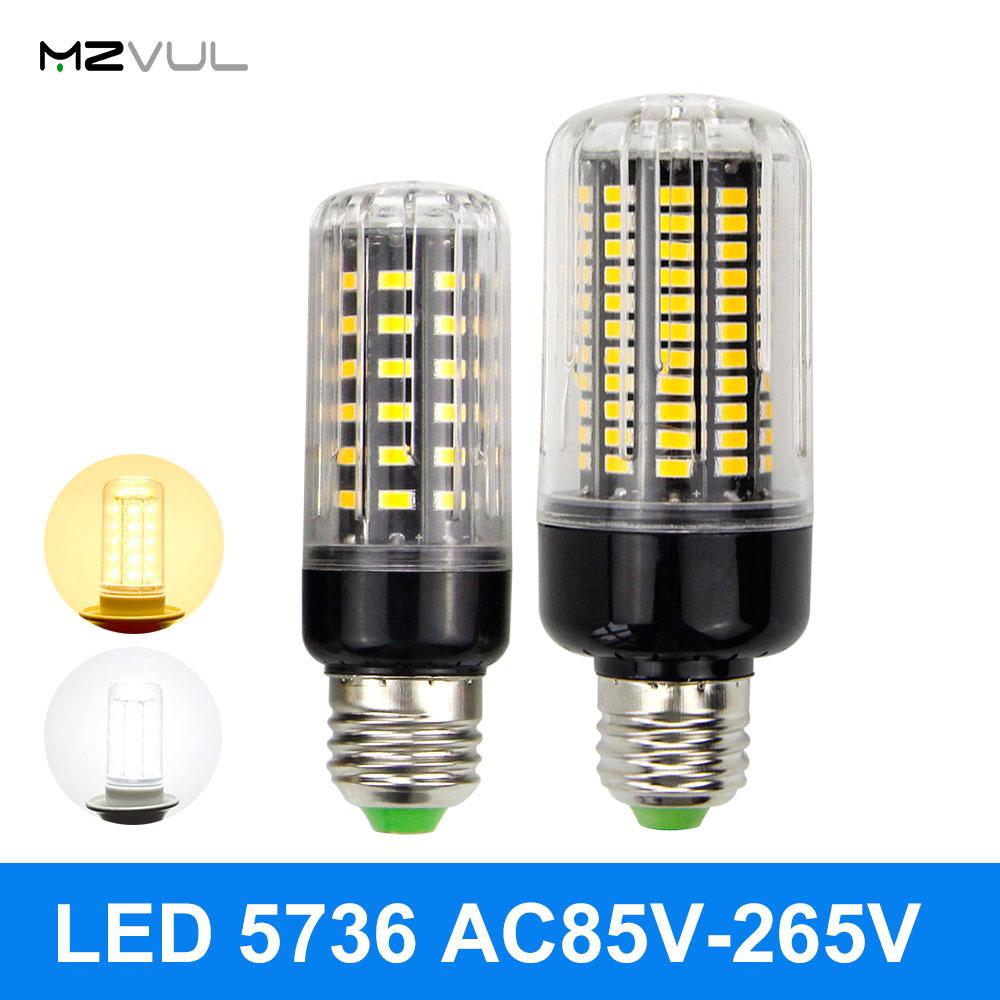 5736 SMD LED Corn Bulb LED Corn Light 3W 5W 7W 9W 12W 15W 18W E27 LED Lamp NO Flicker Constant Current Lamp AC85V-265V
