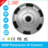 2 0MP 360 Degree Panoramic IP Camera 960P Home Surveillance Full View Network CCTV Security Camera