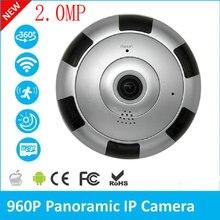 2.0MP 360 градусов панорамный ip Камера 1080 P домашнего наблюдения полный вид сеть видеонаблюдения Камера ИК Ночное видение V380