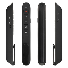 NEW TK701 2.4GHz Wireless Air Mouse Flip Pen Laser Pointer 6 Gxes Gyroscope Presenter Remote Control USE for PPT Presentation