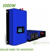 Second Generation MPPT 1000W Solar Power Pure Sine Grid Tie Inverter DC22V 60V 45V 90V TO
