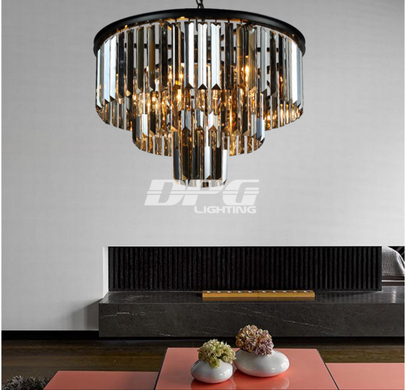 Large Crystal Chandelier Luxury Light Fashion Modern Chandeliers In From Lights Lighting On