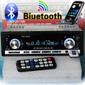 NEW 12V Car Stereo FM Radio MP3 Audio Player Support Bluetooth Phone with AUX/USB/SD Car Electronics Subwoofer In-Dash 1 DIN