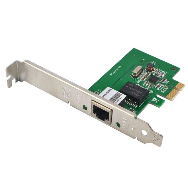 1000Mbps Gigabit Ethernet adaptateur PCI Express PCI E carte réseau 10/100/1000M RJ 45 RJ45 LAN adaptateur convertisseur contrôle réseau