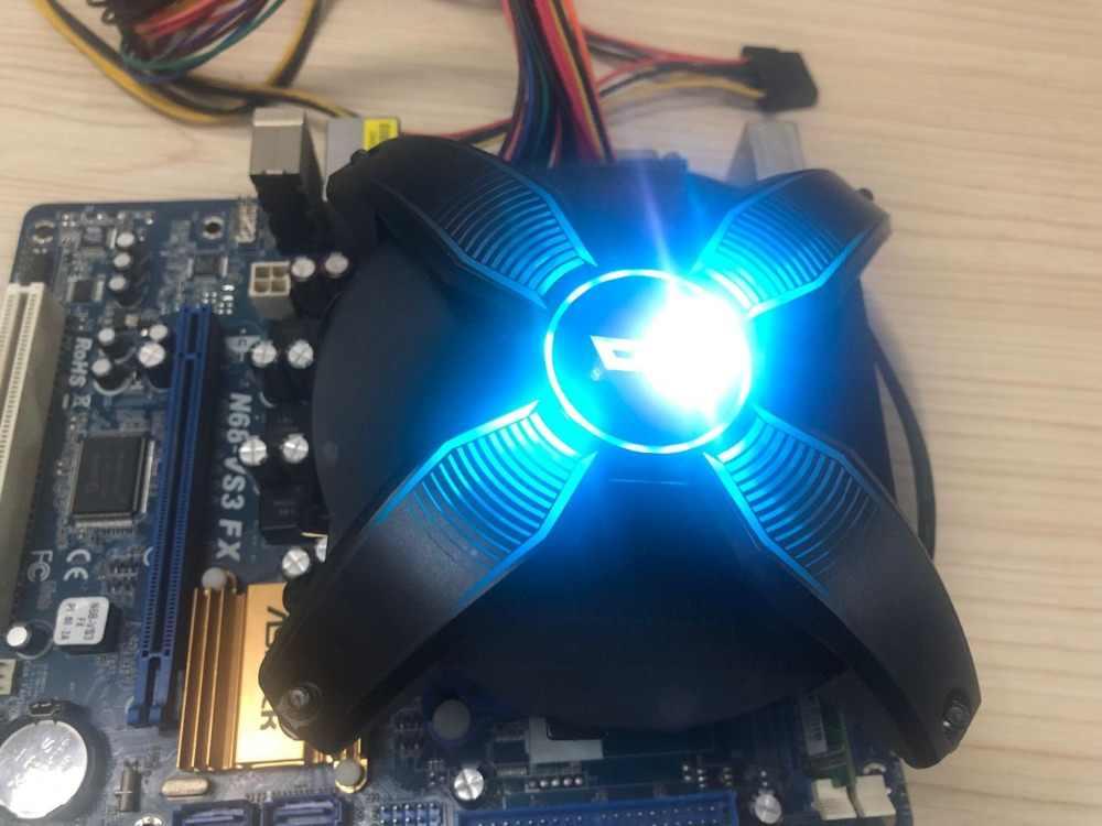 Darkflash Aigo LED CPU Koeler Radiator TDP 280W Koellichaam Stille 120mm 4Pin PC CPU Cooling LGA1155/ 1156/1151/AM2/AM3/AM3 +/AM4