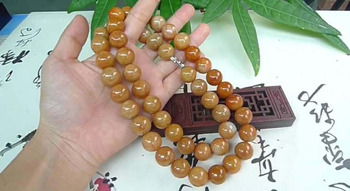 Natural Emerald Necklace Jade Bead Necklace Astragalus Bead Necklace Men and women Emerald Bracelet Necklace AAAA