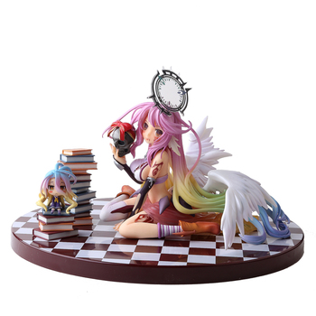 Anime No Game No Life Jibril Angel Wings 1:7 13cm PVC Action Figure Collection Model Doll NO45