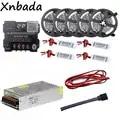 25 м 5050 30led/M RGB Светодиодные полосы света светодиодный контроллер Bluetooth DC12V LED Трансформатор RGB LED Усилители домашние