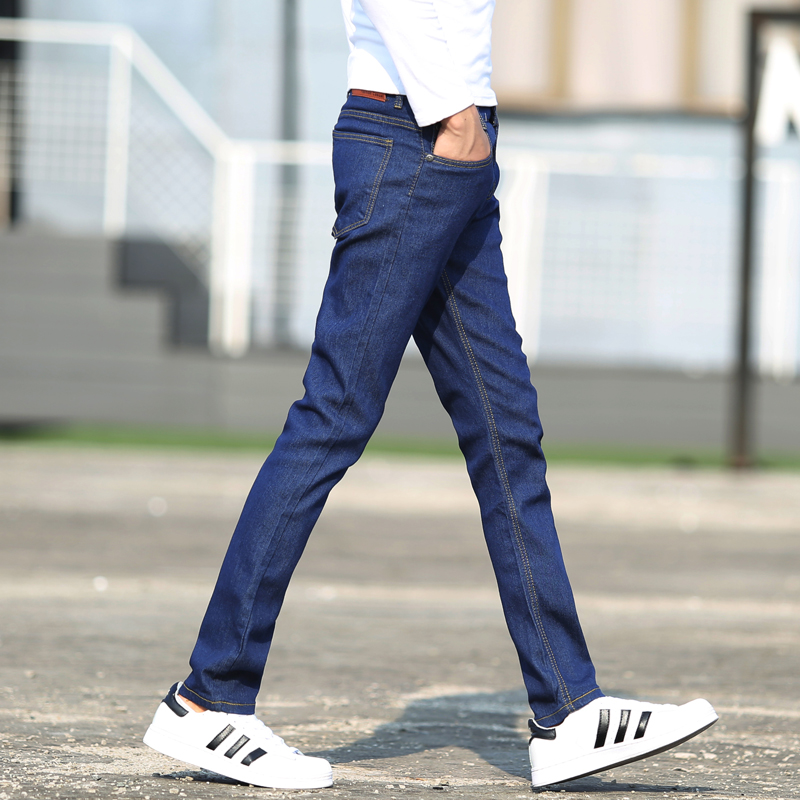 Comfortable The cowboy high-grade male leisure Pure color trousers