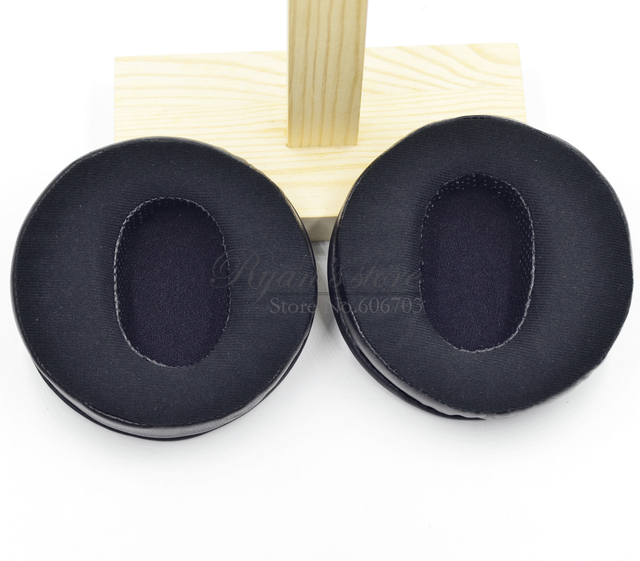 Replacement Angle Genuine Leather velour cushion ear pads for Hifiman HE Series Headphones