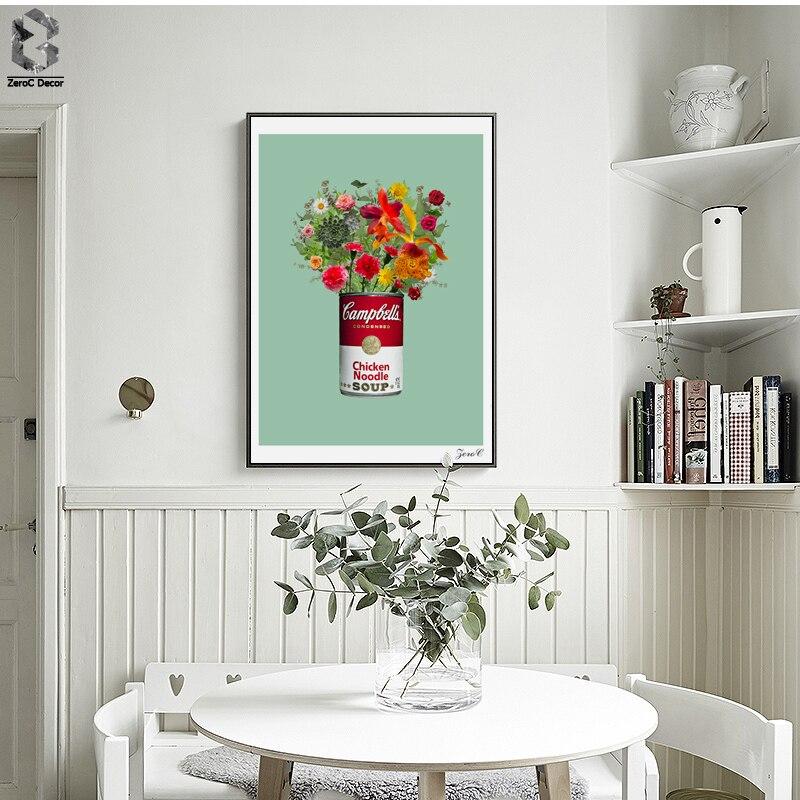 Nordic Kunst Poster Und Prints Wandkunst Leinwand Malerei Bilder Für  Wohnzimmer Kunstwerk Wohnkultur