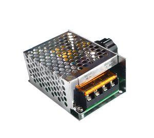 Image 4 - 4000W 220 V Ajuste SCR voltaj regülatörü Controle de Velocidade Motor Dimmer Termostato