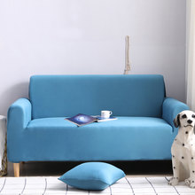 2019 Elastic Couch Sofa Cover Loveseat Cover Sofa Covers for Living Room Sectional Sofa Slipcover Armchair Furniture Cover(China)