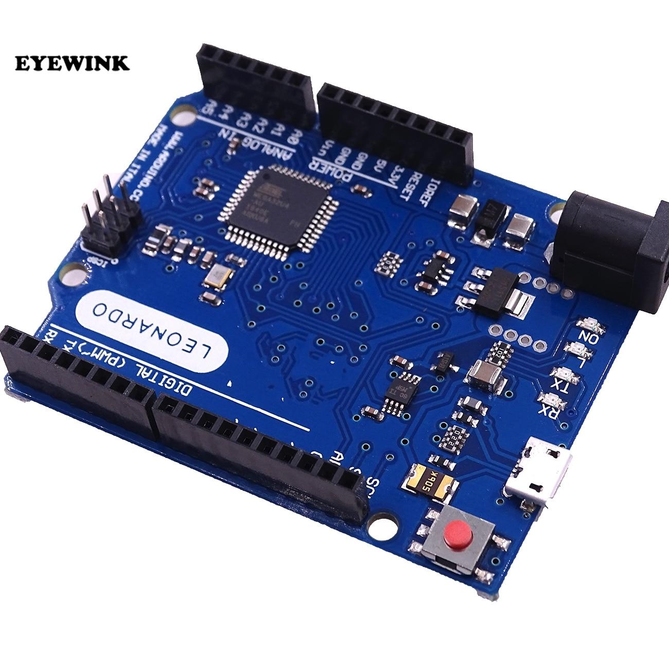 Arduino Leonardo R3 kompatibles Board ATmega32u4 16MHz 5V inklusive USB Kabel