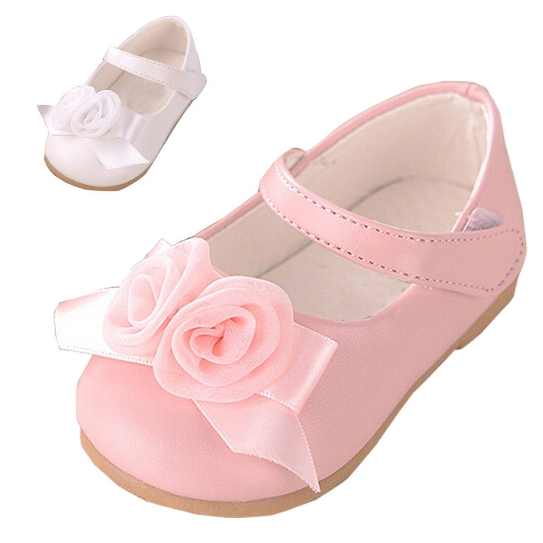 Aliexpress Buy Baby Kids Shoes Cute Pink Flowers Girls Shoes