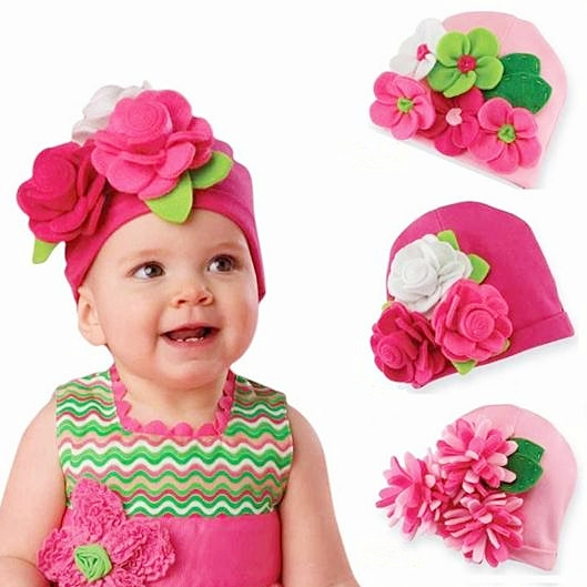 592b8346c105e Hermosa flor hoja recién nacido fotografía apoyos decoración simple color  sólido gorro bebes bebé Niñas gorros sombreros en Sombreros y Gorras de  Mamá y ...