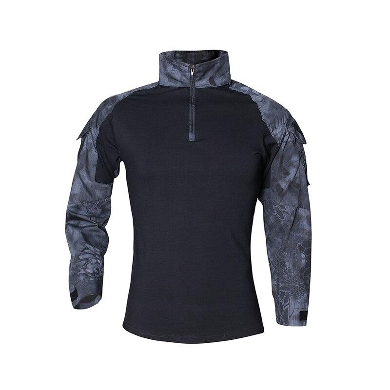 Men Summer Army Combat Tactical T Shirt 5