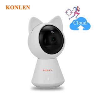 Image 1 - KONLEN WIFI Cloud IP Camera 1080P 720P HD Auto Tracking Wireless Home CCTV Security Nanny Baby Cam Pan Tilt Infrared P2P SD Card