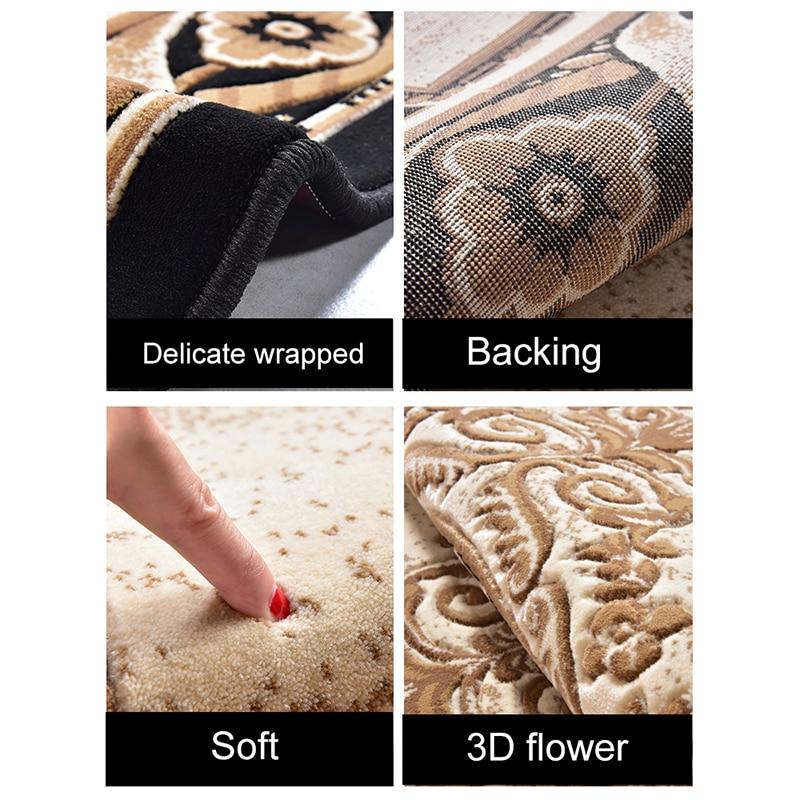 Tapis de luxe doux nordique pour salon chambre chevet tapis maison tapis zone délicate tapis d'étude tapis de sol Design moderne - 6