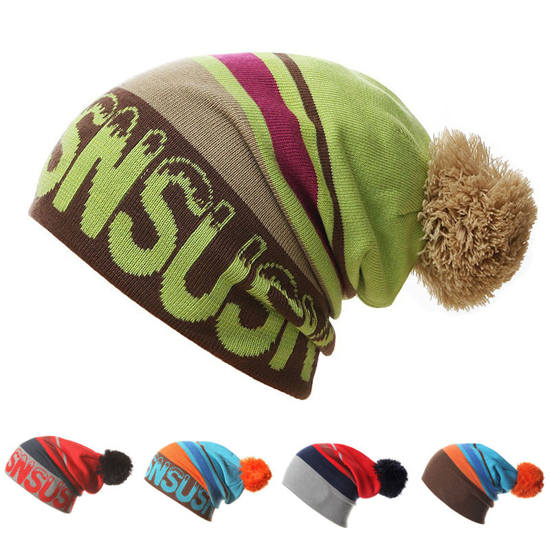 f781888f637 Detail Feedback Questions about 2016 New Men Women Skiing Hats Warm Winter  Knitting Skating Skull Cap Hat Beanies Turtleneck Caps Ski Cap Snowboard Hat  on ...