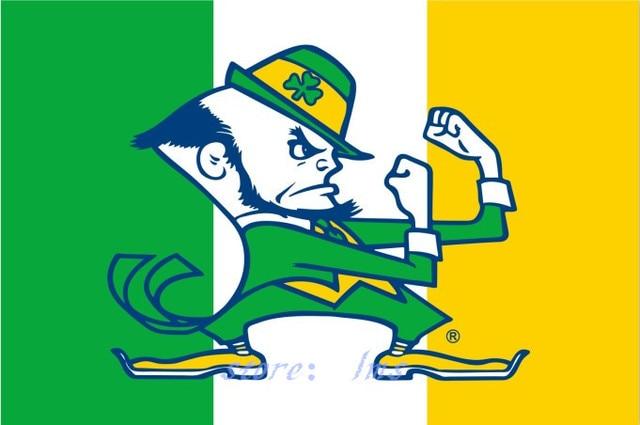 Aliexpress.com : Buy Notre Dame Fighting Irish Ireland NCAA Flag ...