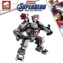 12 in 1 Ironman Iron Man Hulkbuster Super Hero Diy Model Building Blocks Bricks Kids Boy Toy Gifts