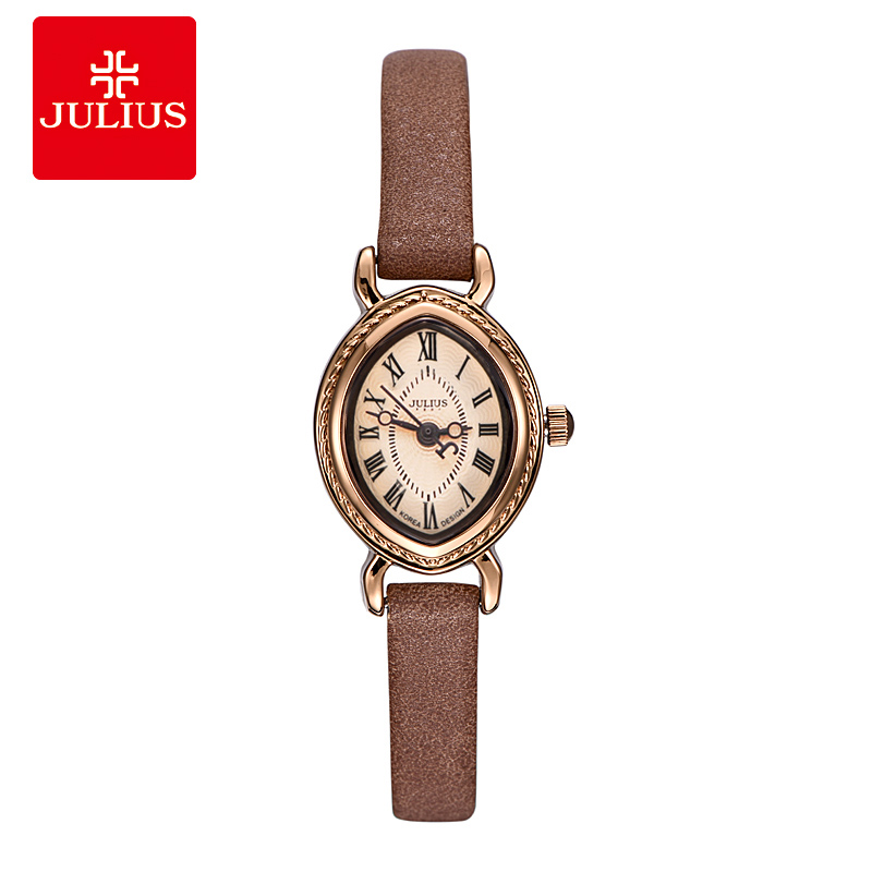 Top Julius Lady Women's Watch Elegant Retro Clock Fashion Hours Dress Bracelet Leather OL Girl's Birthday Mother's Day Gift Box top julius lady women s wrist watch elegant shell retro fashion hours bracelet leather girl birthday gift