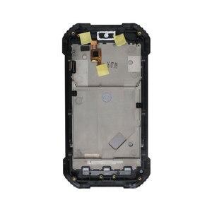 Image 5 - Ocolor Android 7.0 Blackview Bv6000 BV6000S LCD + dokunmatik ekran + çerçeve meclisi onarım 4.7 For Blackview BV6000 bv6000S + Film