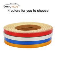 3M 4 Colors 1CM 5000CM Car DIY Reflective Tape Strip Decoration Adhesive Sticker For Auto Automobile