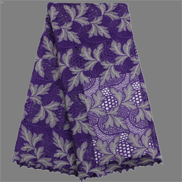 Amazing apparel cloth embroidery French cord lace textile water soluble lace fabric for drss MWL102(5yards/lot) many color