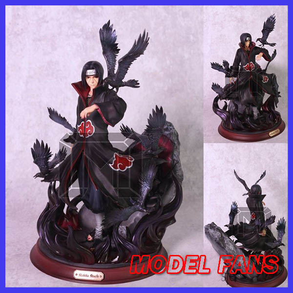 MODEL FANS IN-STOCK MODEL PLACE NARUTO Uchiha Itachi Amaterasu GK resin statue figure for CollectionMODEL FANS IN-STOCK MODEL PLACE NARUTO Uchiha Itachi Amaterasu GK resin statue figure for Collection