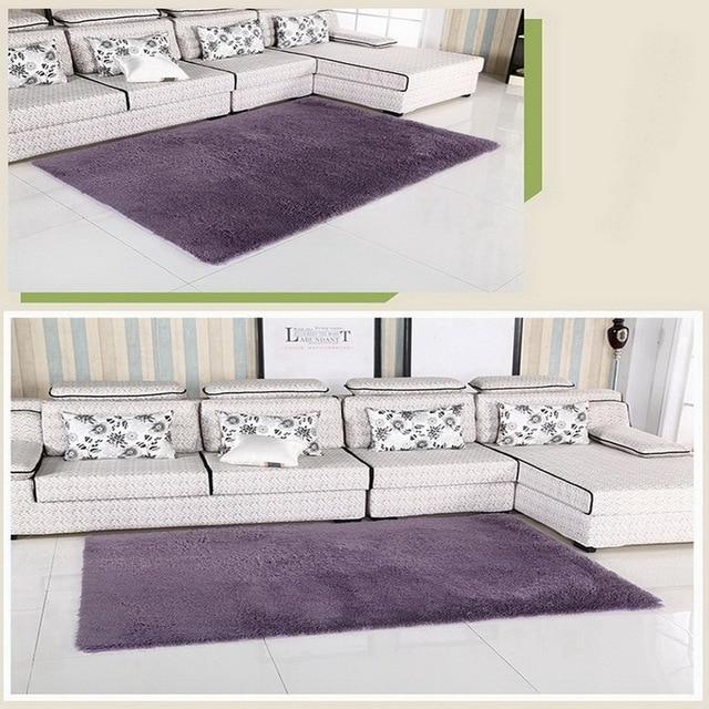 Casa da letto tappeto moderno tappeto morbido tappetino antiscivolo grigio viola grigio rosa - Ikea tappeti camera da letto ...