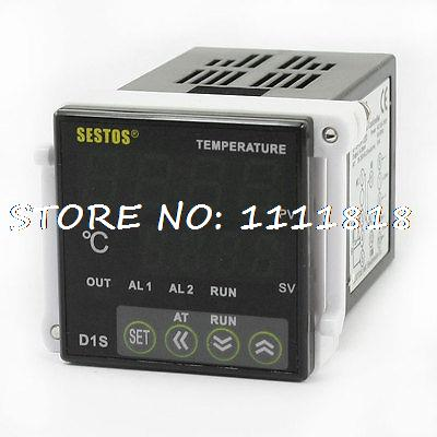 AC 100-240V -50-1700C Temperature Temp Thermostat Control Relay Controller uxcell temperature range ac 250v 16a 3 terminals no nc temperature control capillary thermostat 50 300c 50 300c
