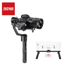 ZHIYUN Original Crane V2 3rd Axial Stabilizer 360 panoramic 1800g Payload for Mirrorless Camera Handheld Gimbal цена и фото