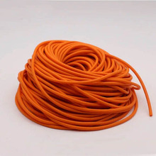 10M Hunting Sling Shot Slings Rubber Sporting Natural Latex Tube Slingshot Green Color Replacement Band Accessories