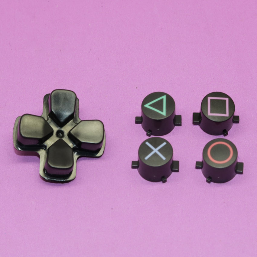 YuXi 1set Replacement For Sony Playstation 4 PS4 Controller D-Pad Circle Square Triangle X Button set