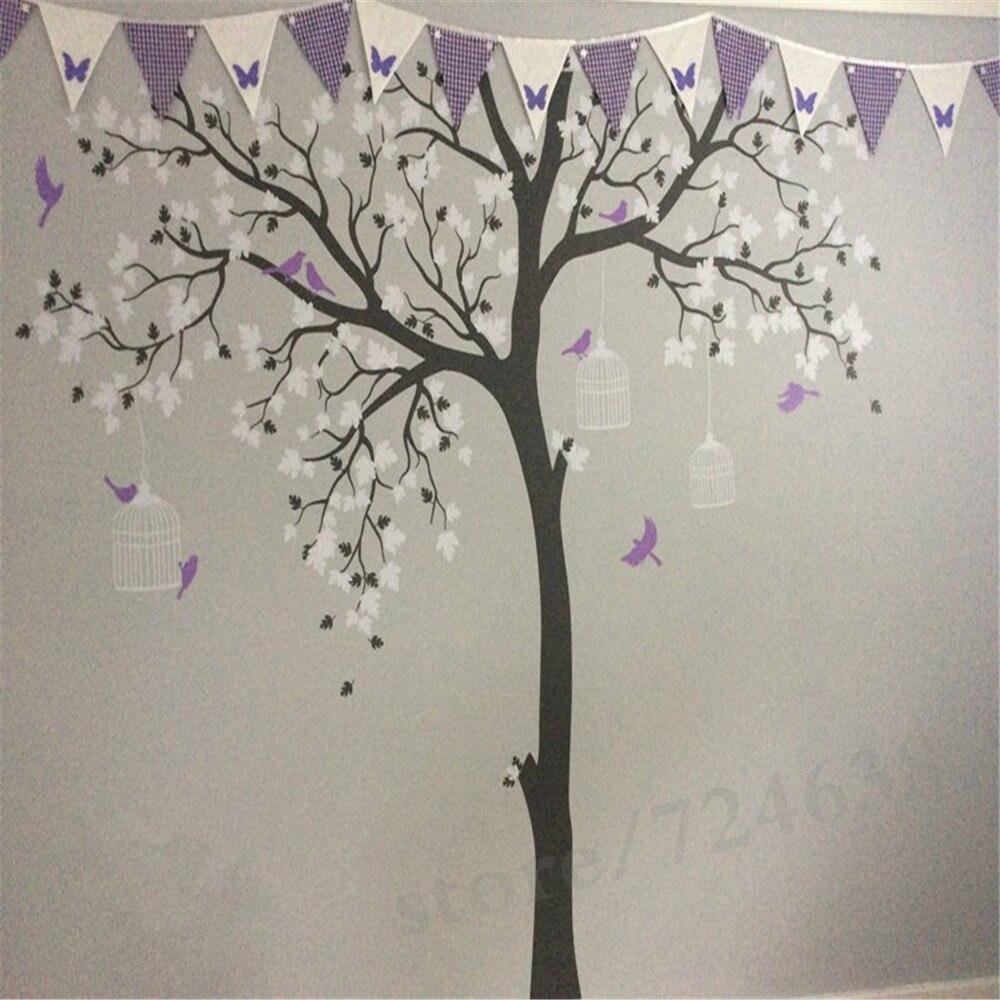 Bird Cage Tree Nursery Room Decor Baby