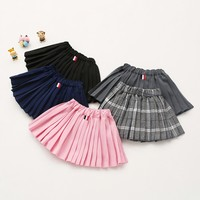 0fdc19a3ceb9dc Autumn Fashion Baby Skirt Girl Solid Color Mini Tutu Girls Skirts Teenager  Summer Toddler Children Clothing