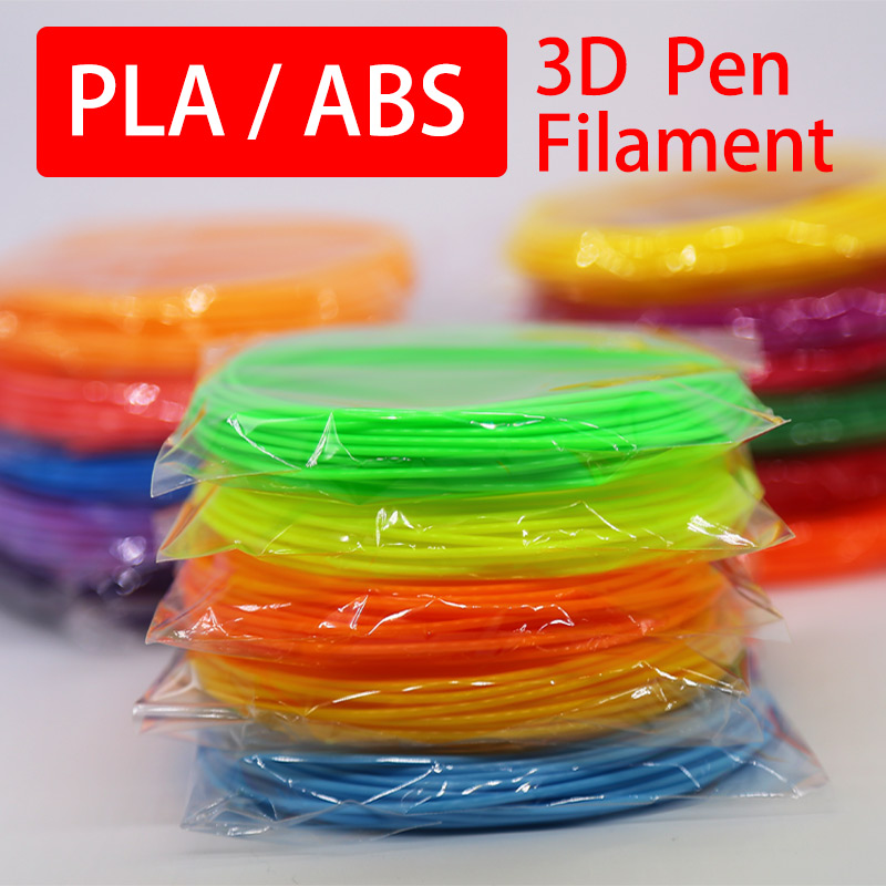 3d Printing Pen Pla 1.75mm Abs Filament  20 Color Choose Best Gift For Kids Perfect 3d Pen 3d Pens Environmental Safety Plastic