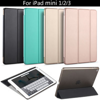 High Quality PU Leather Tablet Smart Case Cover Ultra Slim Designer For APPle IPad Mini 1