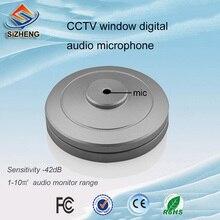 Sizheng COTT-S1ウィンドウデスクトップサウンドピックアップオーディオcctvマイクノイズリダクション用cctvセキュリティ