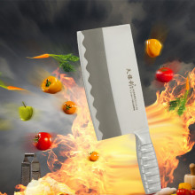 Free Shipping JBL Stainless Steel Kitchen Chop Slice Dual-purpose Knife Household Multifunctional Chef Knives Cooking Knife