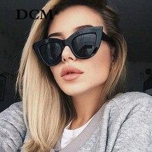 DCM – lunettes de soleil Vintage pour femmes, verres solaires rétro, rose, miroir