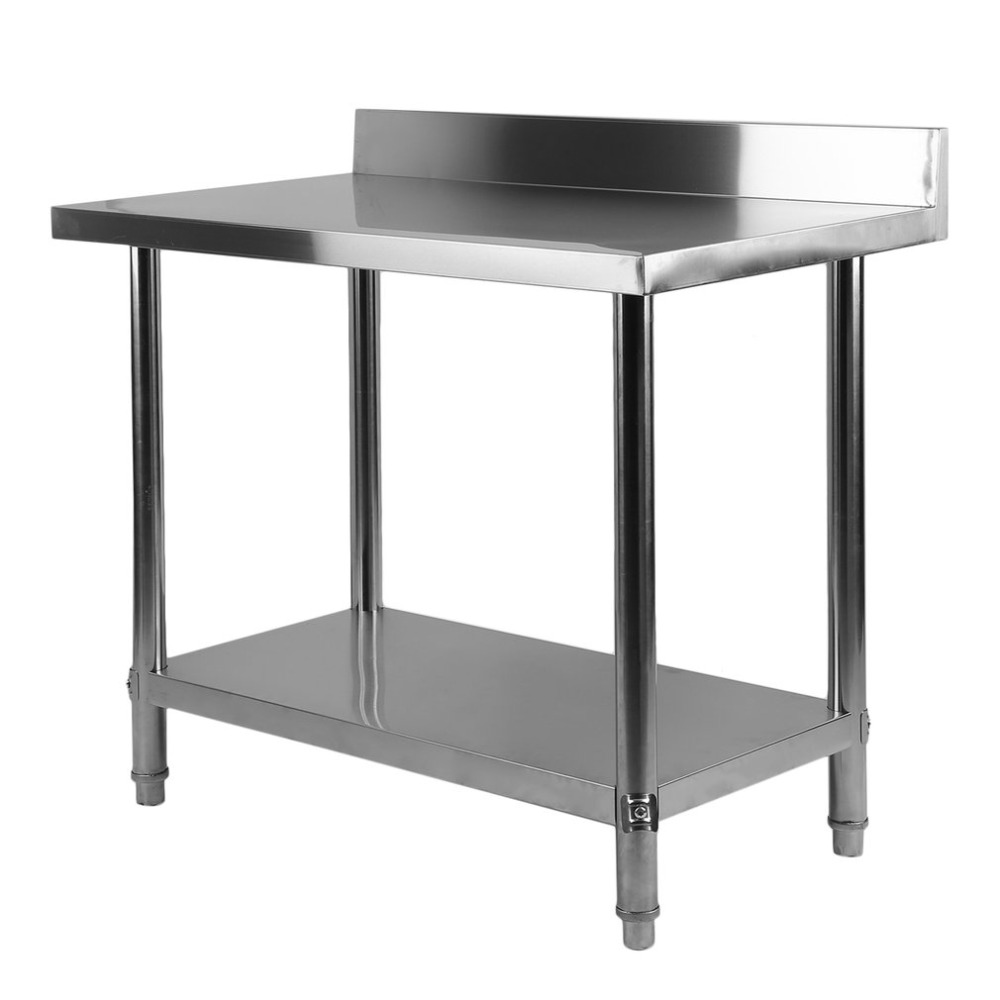 Outstanding Us 106 47 20 Off 4 Size Stable Large Stainless Steel 2 Layers Kitchen Work Bench Commercial Catering Stand Table Food Making Helper Fast Delivery In Theyellowbook Wood Chair Design Ideas Theyellowbookinfo