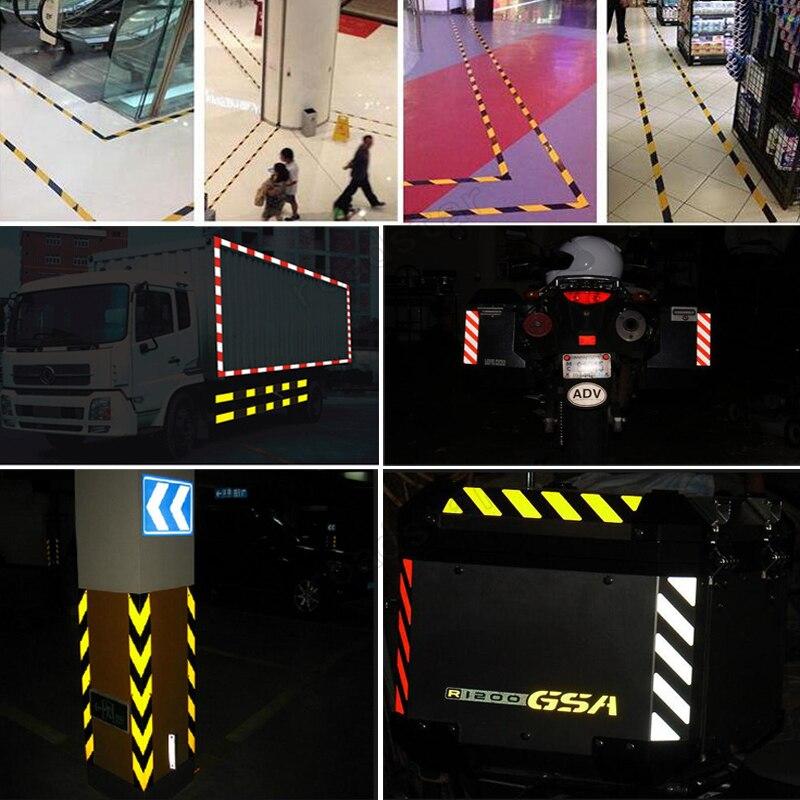 50mm X 50m yansıtıcı lent lentləri Auto Truck Pikap - Avtomobilin xarici aksesuarları - Fotoqrafiya 6