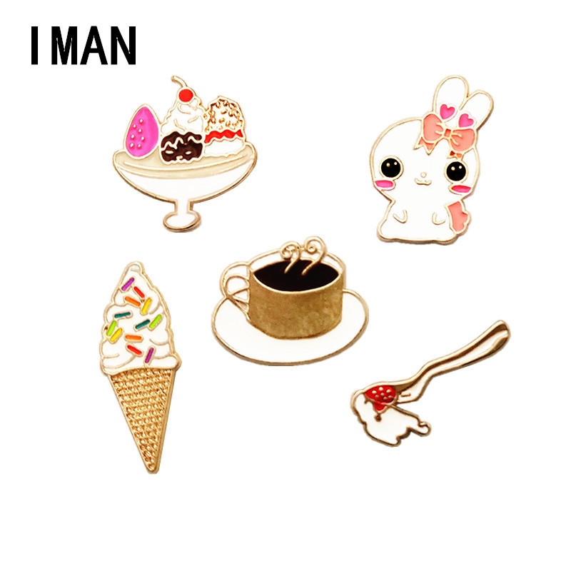 2018 Pin Brooches For Act The Role Ofing Is Tasted A Bow And Arrow Badminton Drip Love Exercise Style Balloon Brooch Badges