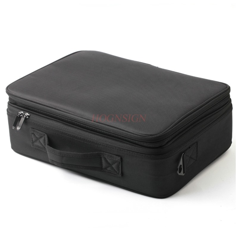 Makeup cosmetic case professional storage large box partition portable 3 layer beauty tattoo kit cosmetic bag portable cosmetic bag suitcases makeup beauty professional multi function cosmetology tattoo eyebrow teacher manicure case