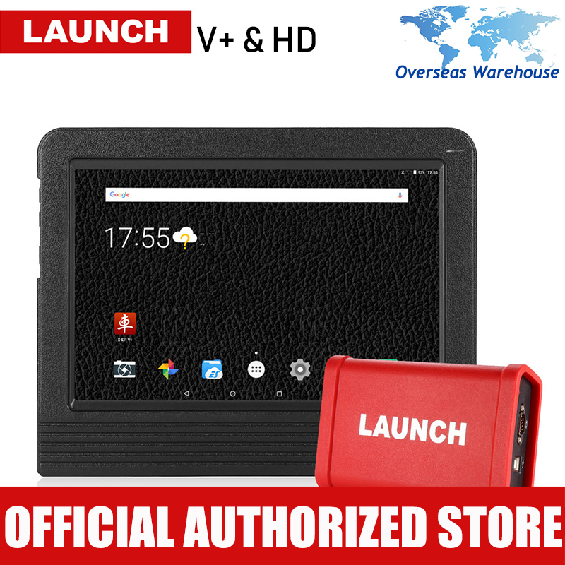LAUNCH X431 V Heavy Duty Car Diagnostsic Tool Full System Automotive Heavy Truck Diagnostics Tools Auto