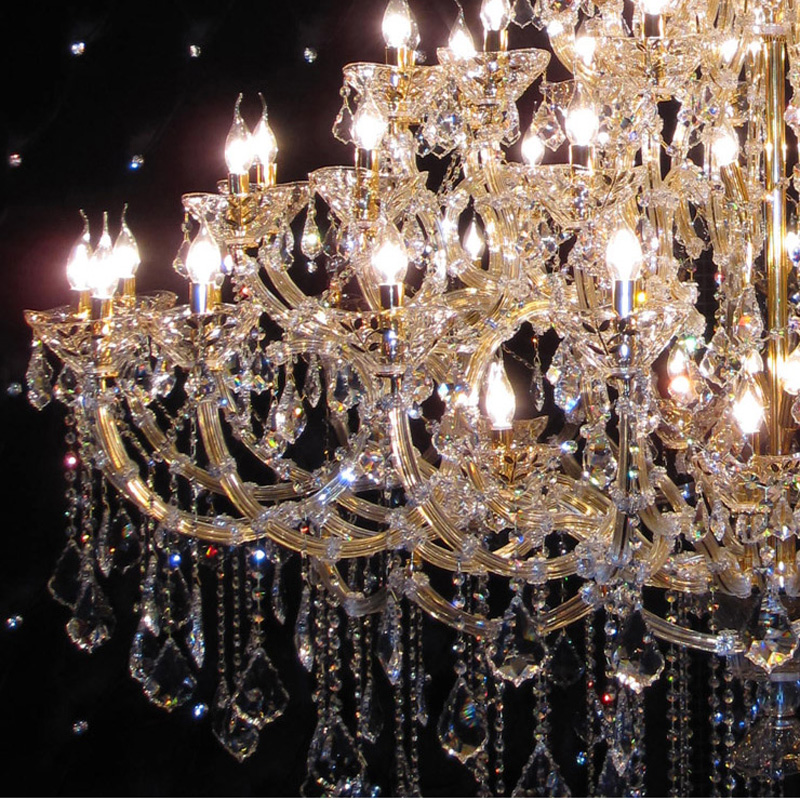 European Crystal Chandelier (88 lights)