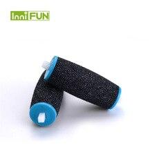 ブランド新2個sholl絹のような電気修理足機剥離ペディキュアデバイス用交換する砂の研磨ヘッド